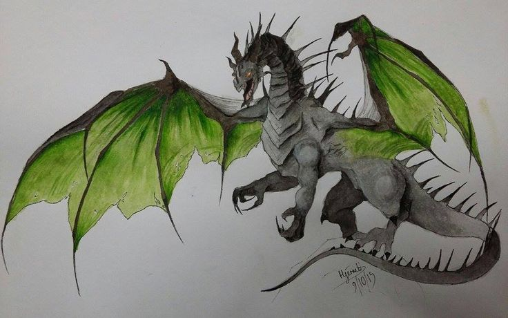 Entry 1: 'Dragon'  by Hecate Jerrett