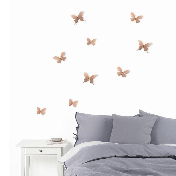 Umbra Wall Decor Butterflies : Best ideas about butterfly wall decor on