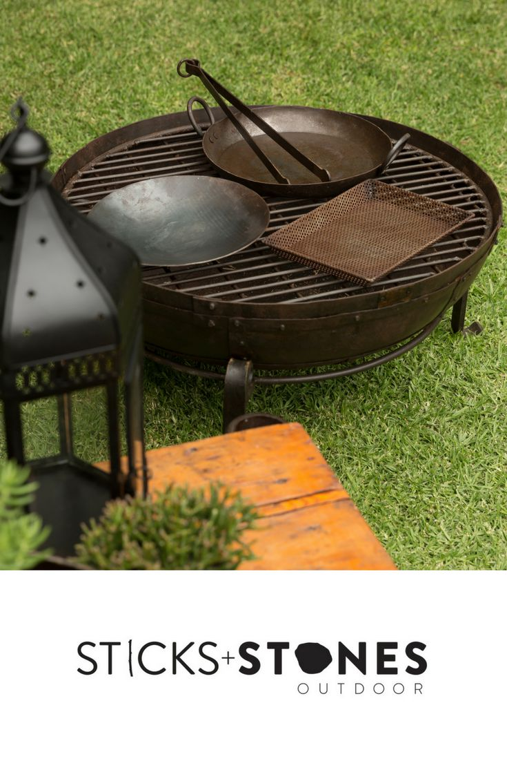 Our Kadai accessories are perfect to complete your fire pit and BBQ cooking utensils for an impressive outdoor feast. At Sticks + Stones Outdoor, we travel the globe to source the most stunning, affordable, practical and stylish items to help you create your own beautiful outdoor space.#outdooraccessories#firepits#BBQ#outdoorcooking