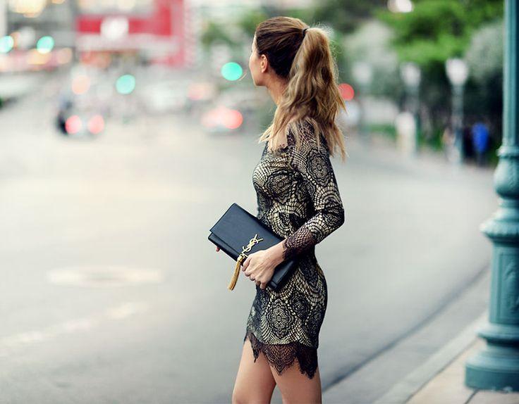 Nettenestea las vegas blondekjole lace dress sheinside koi middag restaurant asiatisk tips usa reise ferie outfit blogg mote annette haga oktober 2014