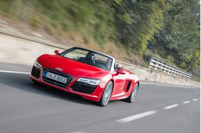 2013 Audi R8 Convertible | 2014 Audi R8, V10 Spyder, And V10 Plus: First Drive