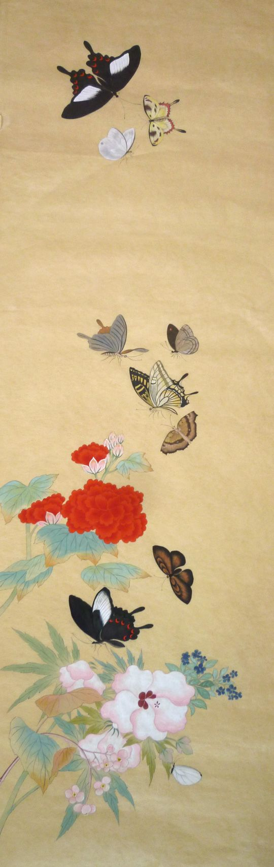 남계우 화접도_우리의 옛 그림 배우기 : 네이버 블로그