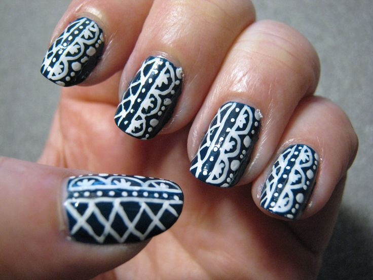 I wrote earlier about Easy Nail Art Pen Designs because I had ordered their Nail Art Book (a must for lovers of nail art!), But I'm not just a fan of their fun designs.