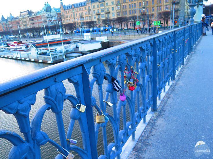 Estocolmo puente candados