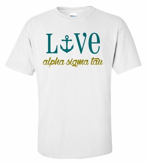 Alpha Sigma Tau Love Mascot T-Shirt