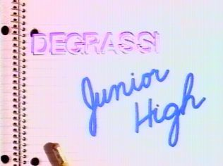 DeGrassi Junior High and DeGrassi High were shows I watched on PBS religiously everyday. Very real stories!