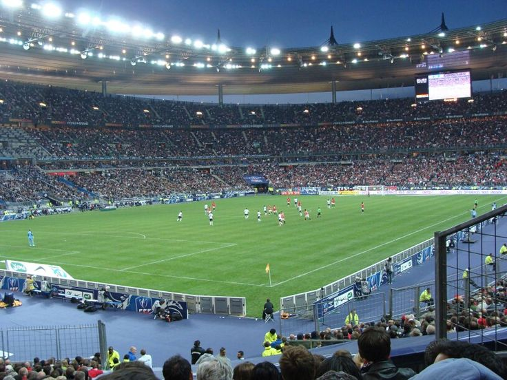 FRANCE STADUIM, Soccer is one of my favorite sports and being in stadium was my first time and I cannot forget the sensation I had.The atmosphere was really out of this world and I found how passionate people love their country, city, teams, and how sport can gather people together. i even thought i would be a soccer player that day.