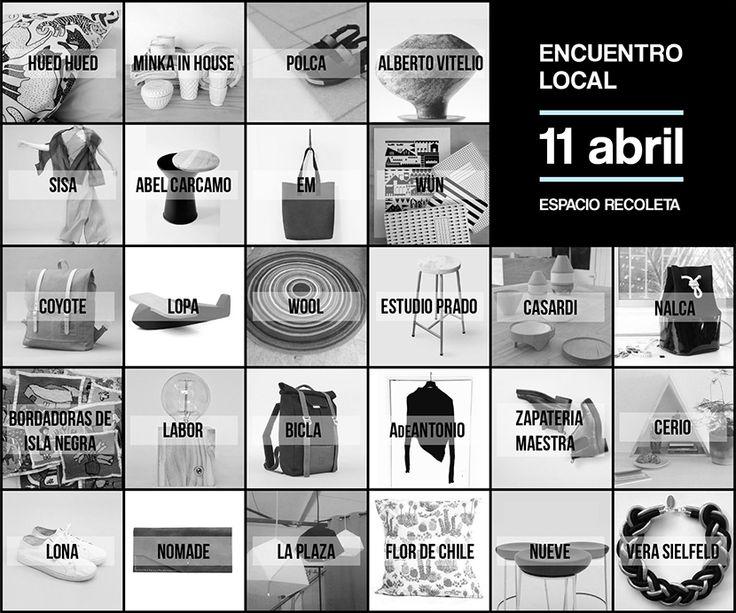 Encuentro Local: 11 de Abril en Espacio Recoleta