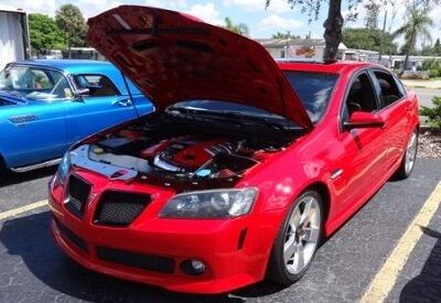 Fire Engine Red Pontiac G8 Sport Sedan