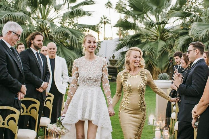 Never before released pictures of Whitney Port's big day