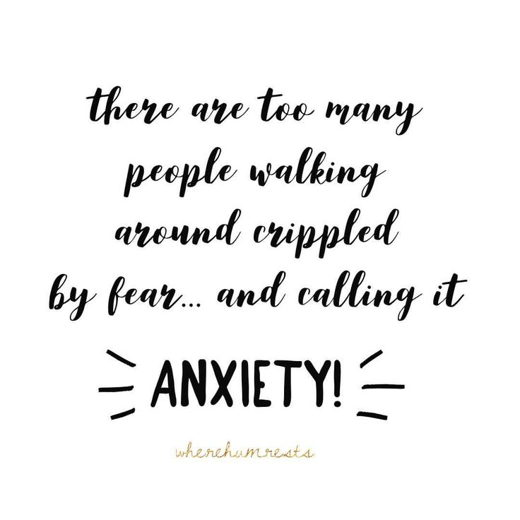 """Anxiety has become as popular as Prozac was in the 90's. Now, before I continue I want to make it…"""""""