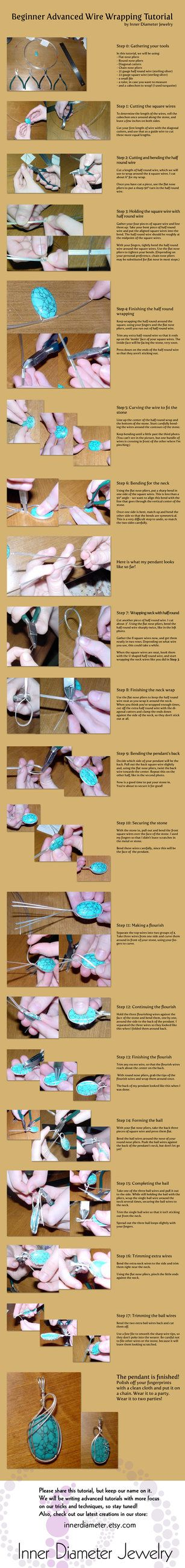Intro to Fine Wire Wrapping by =innerdiameter on deviantART