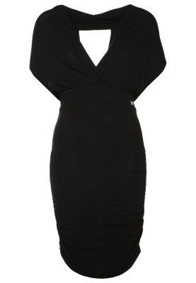 LUCIENNE - Jerseykleid - schwarz