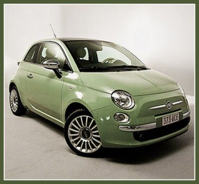 Love relaunched Fiat 500 and this colour is great