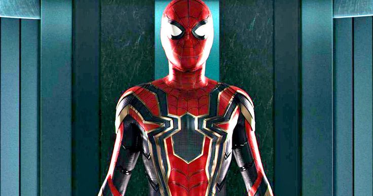 Iron Spider Suit from Spider-Man: Homecoming Fully Revealed -- Spider-Man will have a new Iron Spider suit when he returns in Infinity War, as first seen at the end of Homecoming. -- http://movieweb.com/spider-man-homecoming-iron-spider-costume-photo/