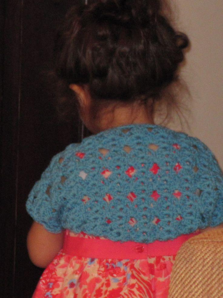 47 Best Crochet Shrugs Images On Pinterest Crochet Shrugs Knit