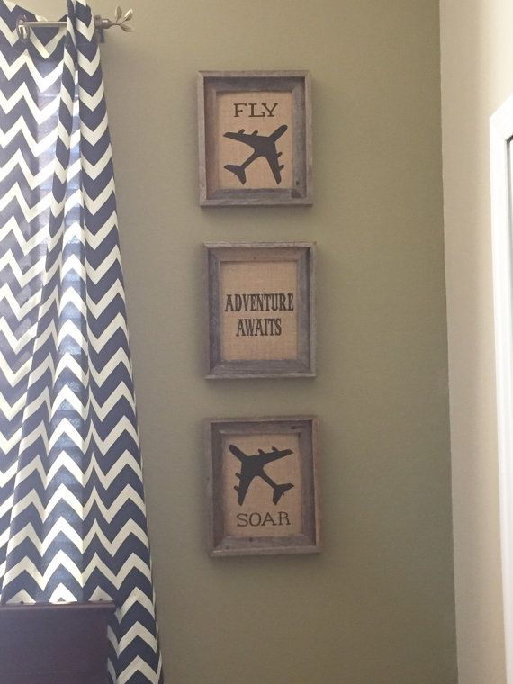 Burlap wall art by HeartFeltArtwork on Etsy