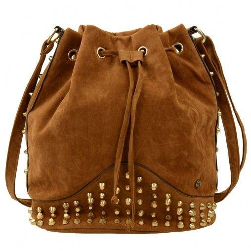 SACHA // Bucket bag met studs €29,95