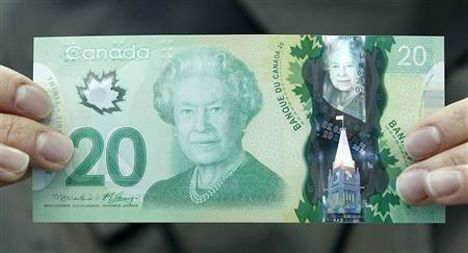 Canada Goose' fake $20 bill