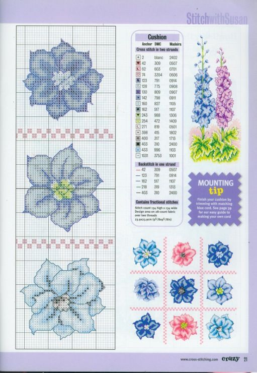 Gallery.ru / Фото #12 - Cross Stitch Crazy 021 июнь 2001 - tymannost