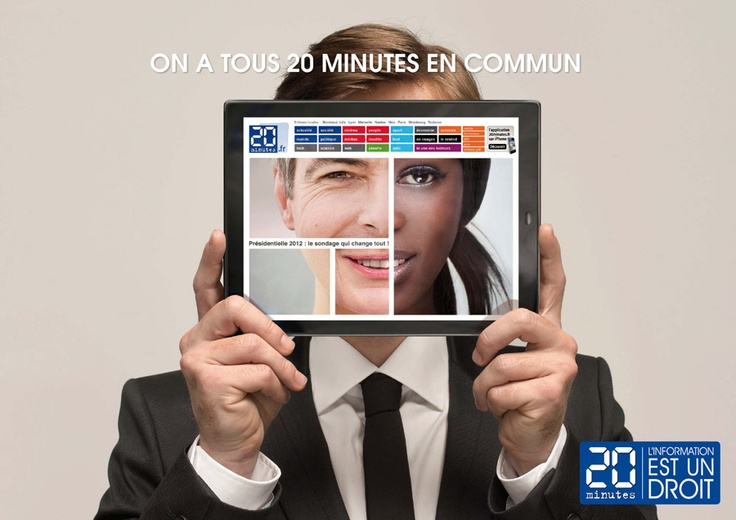 """20 Minutes - """"we all have 20 minutes in common"""" by la chose"""