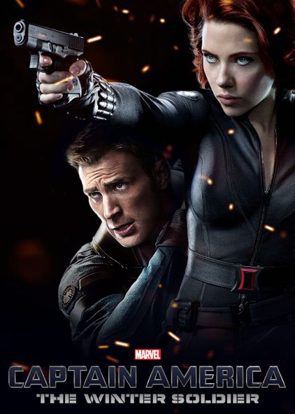 If only the Cap2 movie poster was really that . . . :') #Romanogers #Captasha