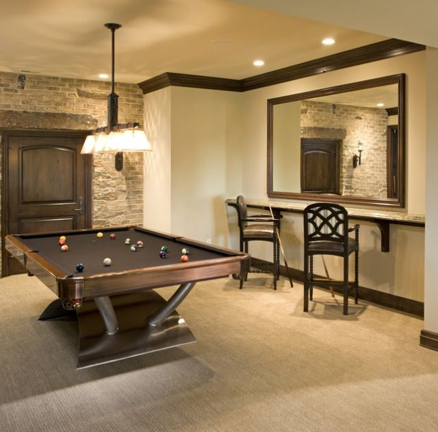 Best 25 pool table top ideas on pinterest diy table top Basement game room ideas