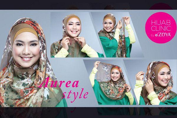 Tutorial Hijab Syar'i Aurea Style by Zoya | Zoya - Lebih Pas Untuk Cantikmu