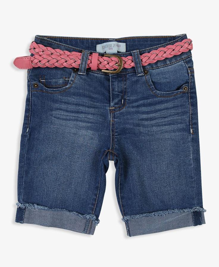 Belted Bermuda Shorts   FOREVER21 - 2011634311