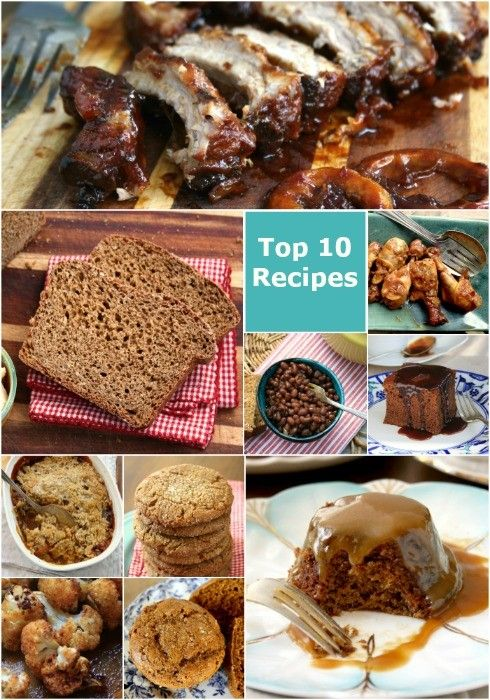 Top 10 molasses recipes: the 10 most popular molasses recipes of 2015, including breads, cakes, cookies, ribs and a vegetable surprise.