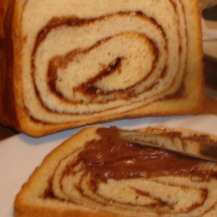 Quatre-quarts fourré au Nutella