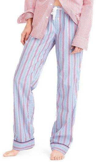 Women's J.crew Candy Cane Comfy Pajama Pants.#affiliatelink