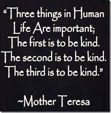 Mother Thersa-Kind Hearted Essay
