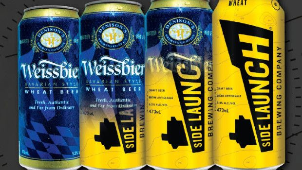 Denison's Weissbier rebranded as Side Launch Wheat - Truly one of the best German-style Weiss beers in the world.