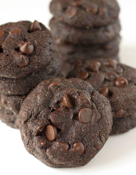 double fudgy cookie chocolate brownie cookies dark chocolate brownies ...
