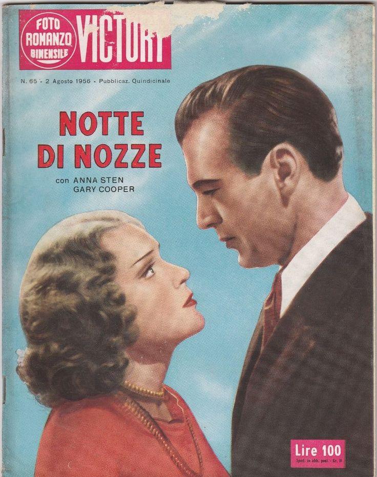 FOTOROMANZO VICTORY Notte di Nozze con G. Cooper, A. Sten  1956-L5364