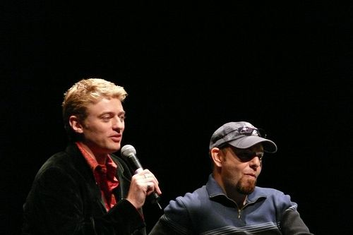 Crispin Freeman & Dave Wittenberg by fc.nz, via Flickr