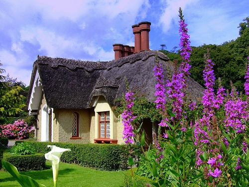 Lovely thatched roof cottage, Killarney, County Kerry, Ireland