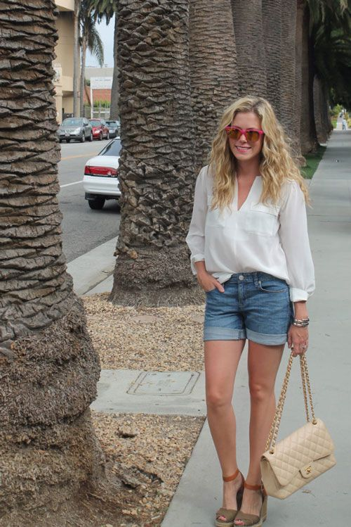 15 #StylePanel tips on how to wear denim shorts » http://www.fashionmagazine.com/blogs/fashion/2013/07/09/how-to-wear-denim-shorts-style-panel/