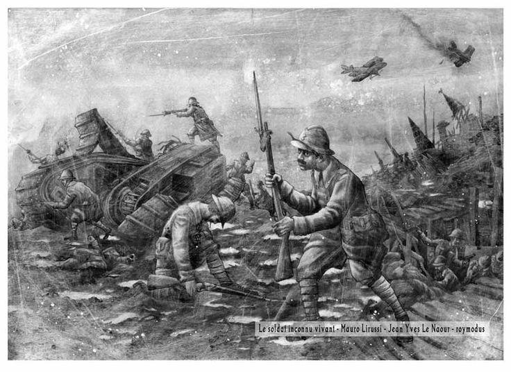 Assaut le soldat inconnu vivant - Roymodus.