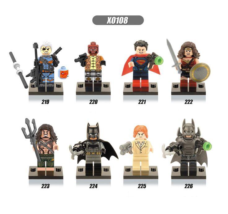 0.71$ (More info here: http://www.daitingtoday.com/single-sale-dc-super-heroes-avengers-batman-v-superman-dawn-of-justice-diy-figures-building-block-children-toy-gift ) Single sale DC Super Heroes Avengers Batman v Superman: Dawn of Justice diy figures Building Block children toy gift for just 0.71$
