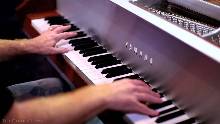 One Direction - What Makes You Beautiful (5 Piano Guys, 1 piano) - (I love the way The Piano Guys did this song!!)