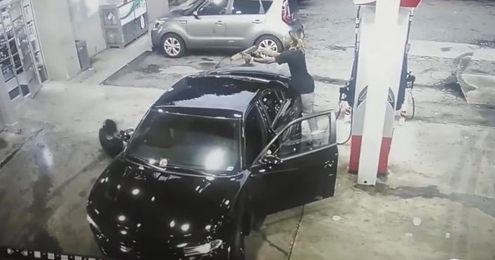 Video Captures Dramatic Shootout With AK Pistol At Atlanta Gas Station