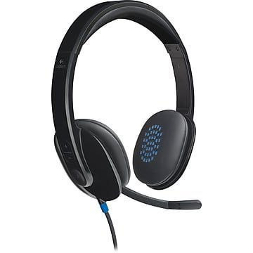 Logitech H540 Computer HD Headset, Over-the-Head, …