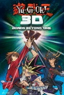 YU-GI-OH! 3D: BONDS BEYOND TIME  Cinedigm Digital Cinema announced today it will bring YU-GI-OH! 3D: BONDS BEYOND TIME to 300 digital movie theatres around the US for 5 and 6 March 2011. Moviegoers at those special event screenings will receive an exclusive Konami 'Malefic Red-Eyes B. Dragon' collectible card for the legendary Yu-Gi-Oh! trading card game, as well as a mini-manga from VIZ Media.