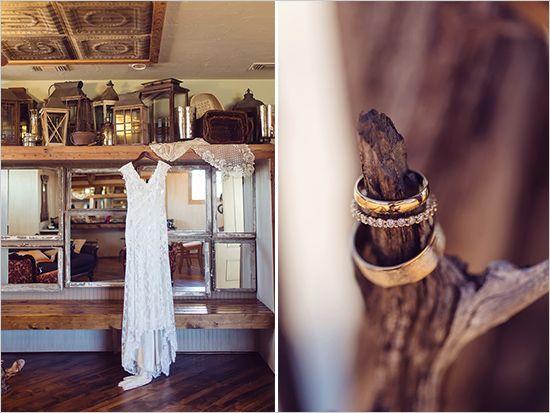 кружева свадебное платье от Allure Bridals