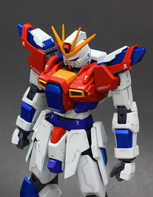 MG Try Burning Gundam by soma | Gundam Century