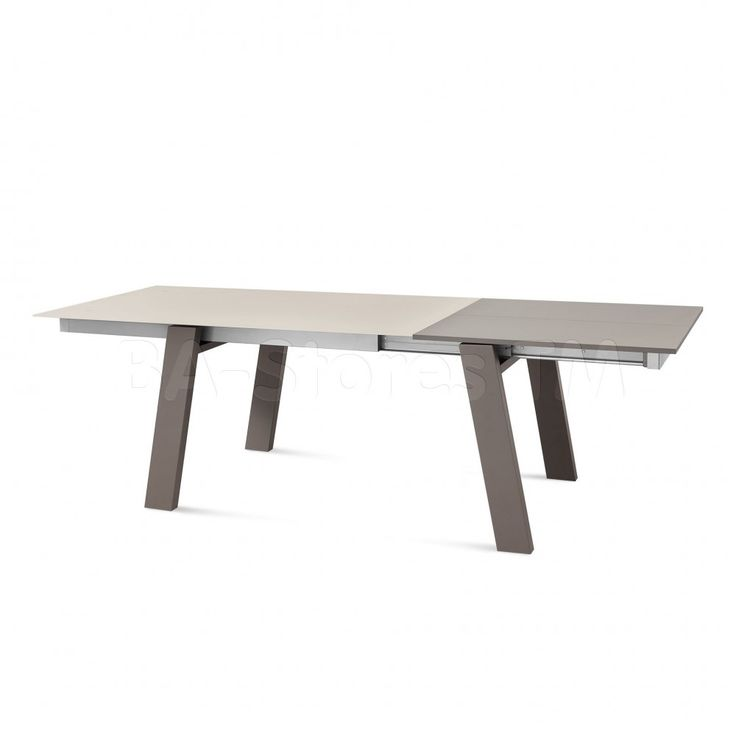 Must Extendable Dining Table in Taupe by DomItalia