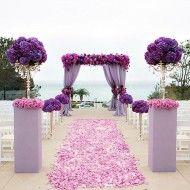 Inspiração: Casamento roxo e rosa