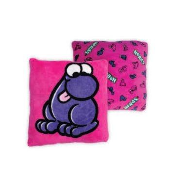 Nerds Candy Plush Throw Pillow. Adorable Pink Nerds Candy plush pillow measures 16